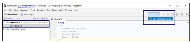 phpstorm xdebug