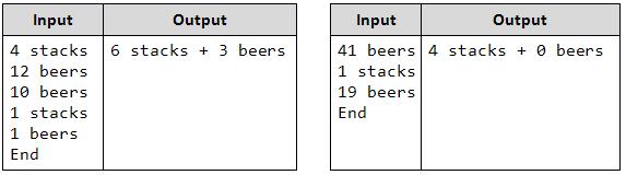 count beers examples