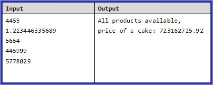 cake tycoon c# task example 3