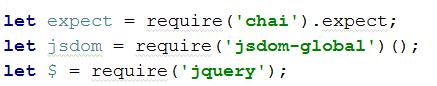 chai testing library usage