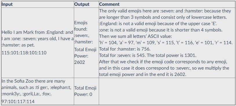 emoji sumator php exam task