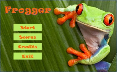 frogger game in java