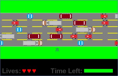 frogger game code in java
