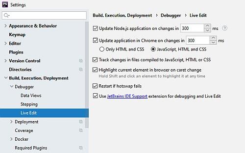 jetbrains support Chrome add-on PHPStorm settings